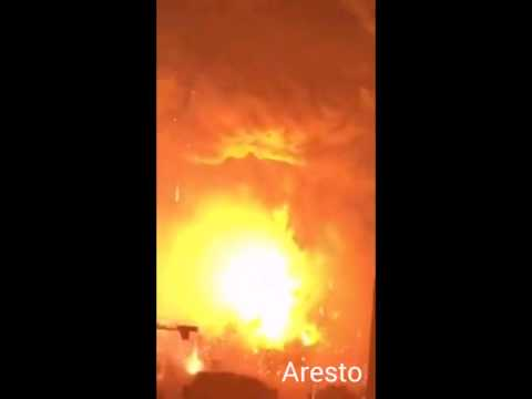 2015 China chemical factory Exploding