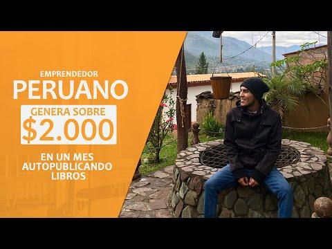 ¡Emprendedor Peruano Genera Sobre 2000 Dólares En Un Mes Autopublicando Libros!
