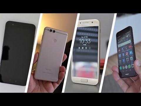 De beste smartphones van 2017 : 10 telefoons onder 200 euro getest