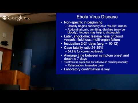 Dr. Stephen Morse | Ebola in 2014: Lessons for Health System