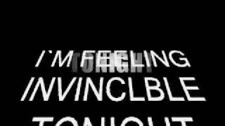 WWE superstars theme with stylish lyrics i am invincible tonight