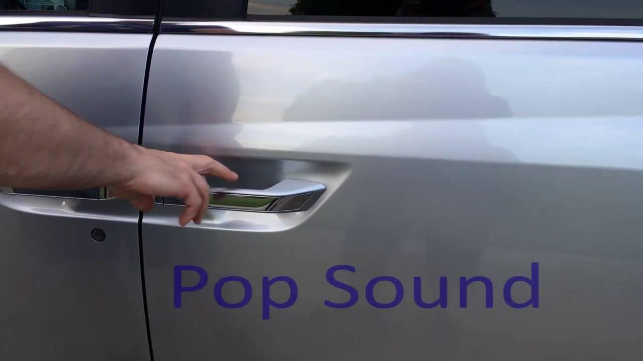 2011 Honda Odyssey Ex L Door Pop Sound Youtube