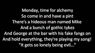 Voltaire - Alchemy Mondays Lyrics