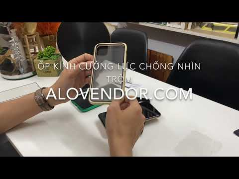 Kính cường lực - Ốp kính cường lực chống nhìn trộm cho iPhone