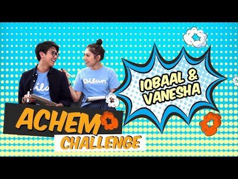 Chemistry Manis Iqbaal & Vanesha (Dilan & Milea) | ACHEM CHALLENGE