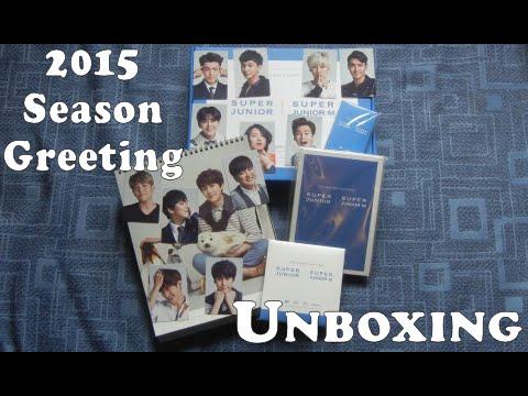 Unboxing 2015 desk calendar diary dvd super junior 2015 season unboxing 2015 desk calendar diary dvd super junior 2015 season greeting m4hsunfo