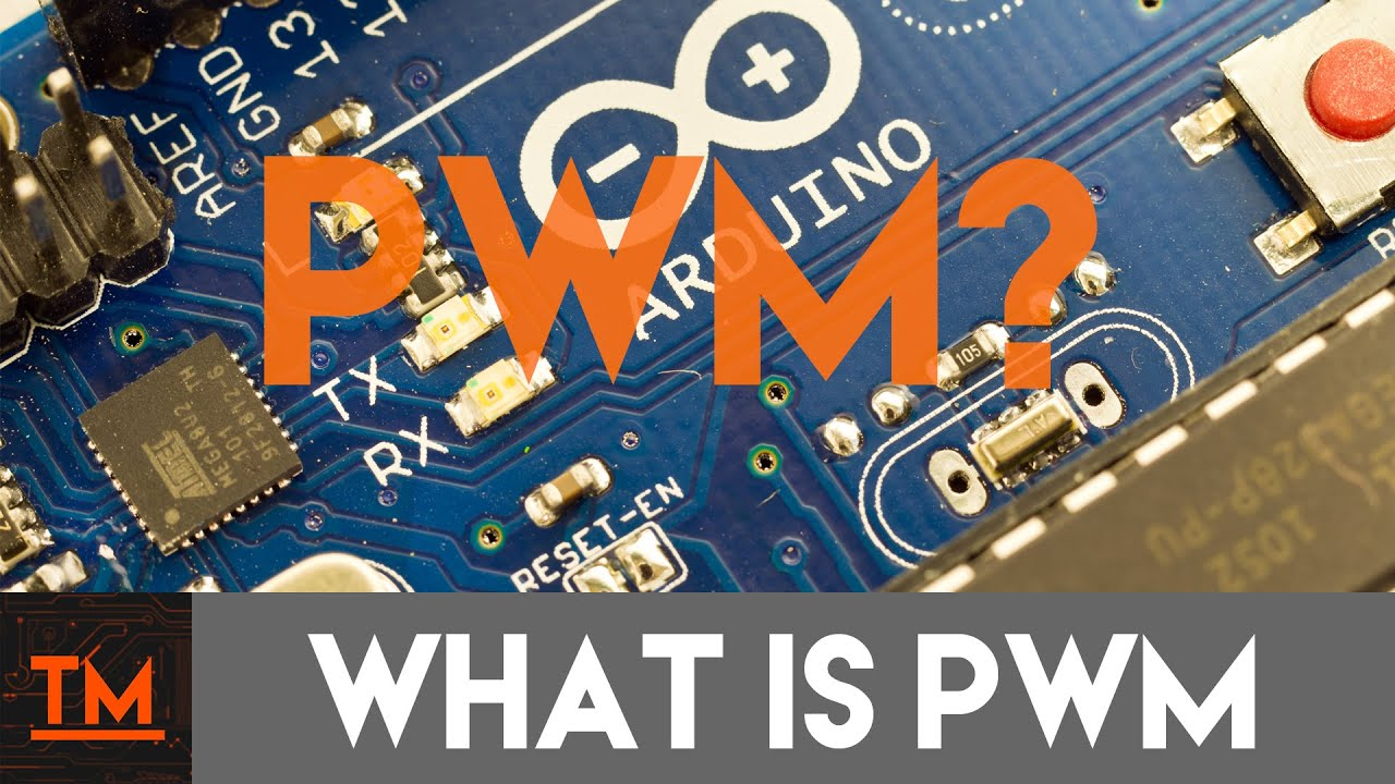 What is PWM?  Electronic Basics  TechMaker - YouTube