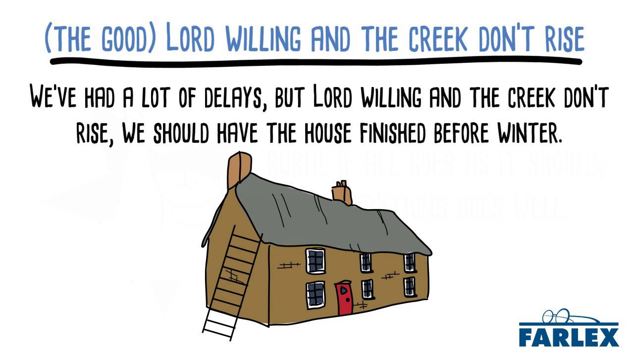 The Good Lord Willing And The Creek Dont Rise Youtube