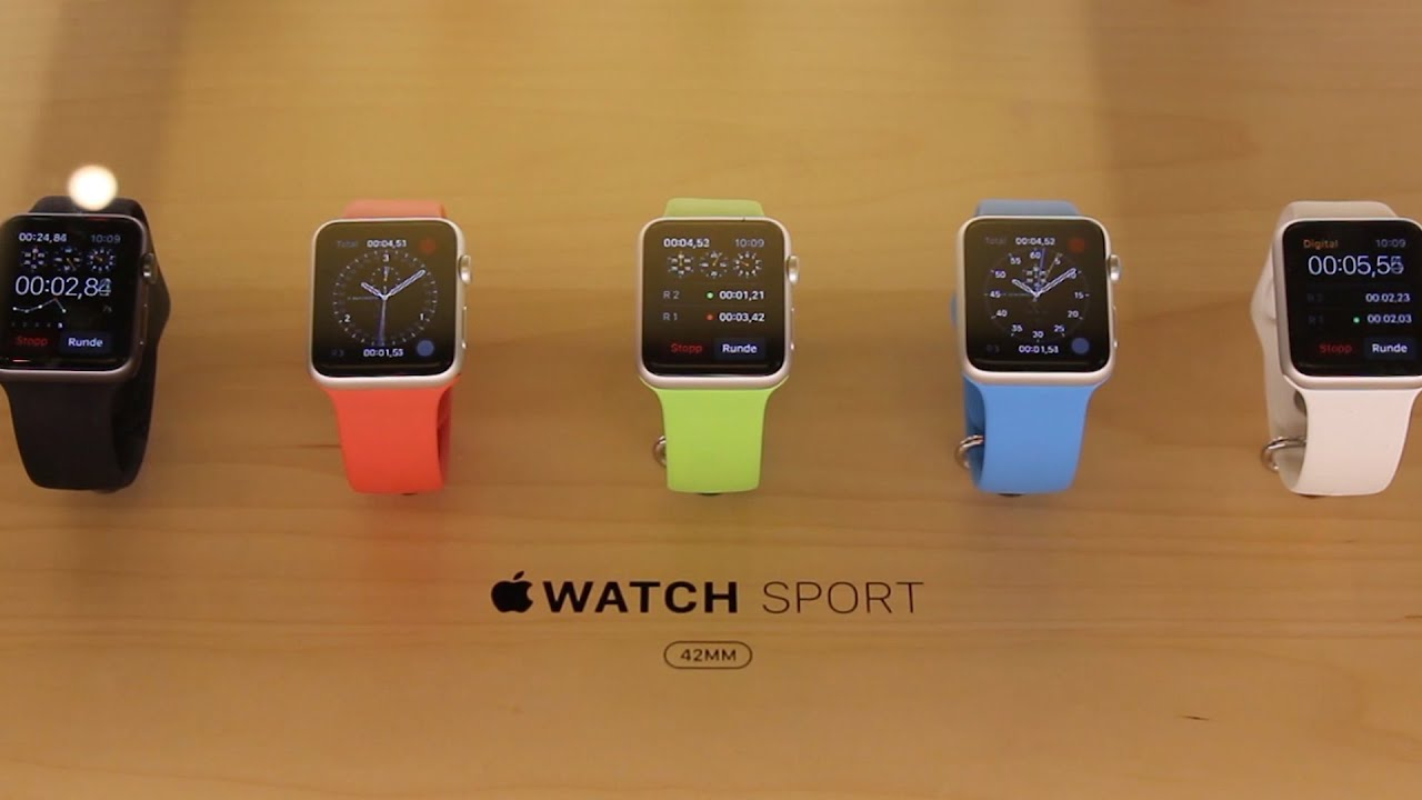 apple watch sport color comparison youtube - Sport Pictures To Color