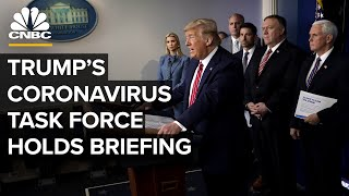 Coronavirus task force holds briefing after predicting massive death toll - 4/1/2020