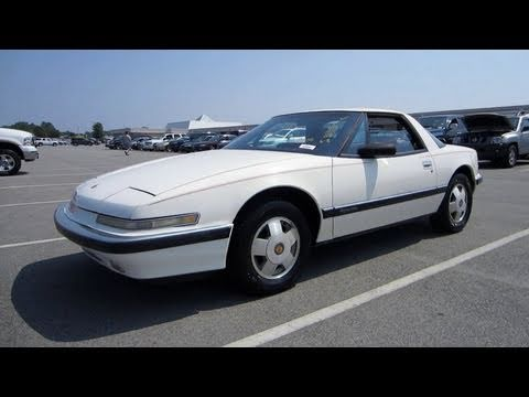 1988 Buick Reatta Start Up, Exhaust, and In Depth Tour - YouTube
