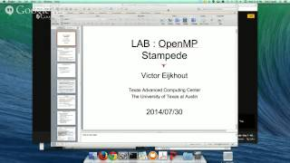 Parallel Computing on Stampede - Day 1 - Afternoon