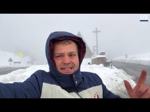 El meteorólogo Enrique Pérez de Eulate analiza la nevada en Navarra