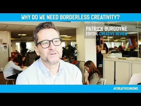 #CreativeUnions Patrick Burgoyne -  Creative Review