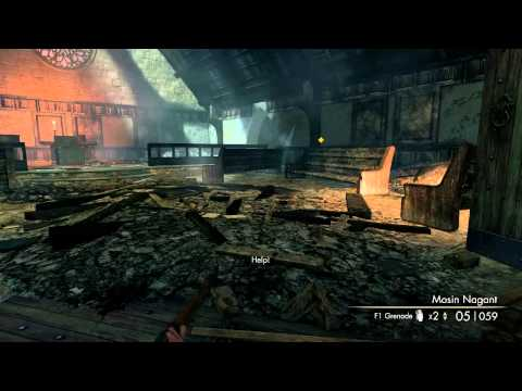 Sniper Elite V2 - Kopenick Launch Site 100% Accuracy Achievement (Marksman Difficulty)