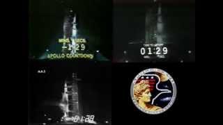 Apollo 17 Launch (Multi-Screen)