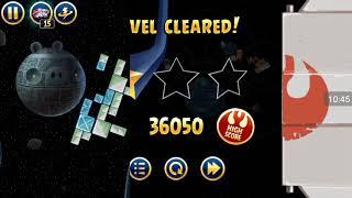 Прохождение Angry Birds Star Wars #3 [Звезда Смерти *1] (Лёгкое стекло)
