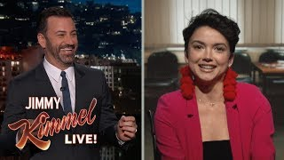 Jimmy Kimmel Interviews Bekah M from The Bachelor