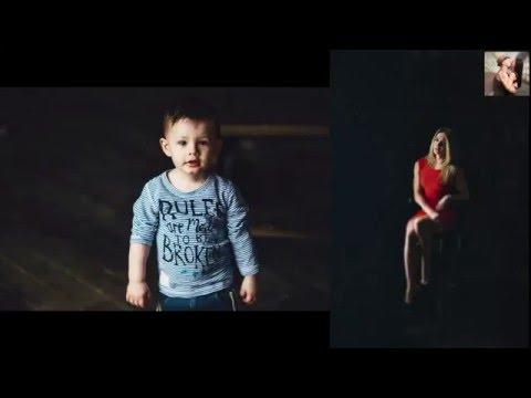 Как фотографировать детей и об освещение (видео с фотосессии с коментариями)