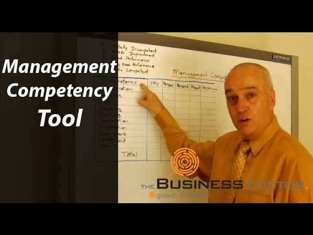 Management Competency Tool - The Business Doctor