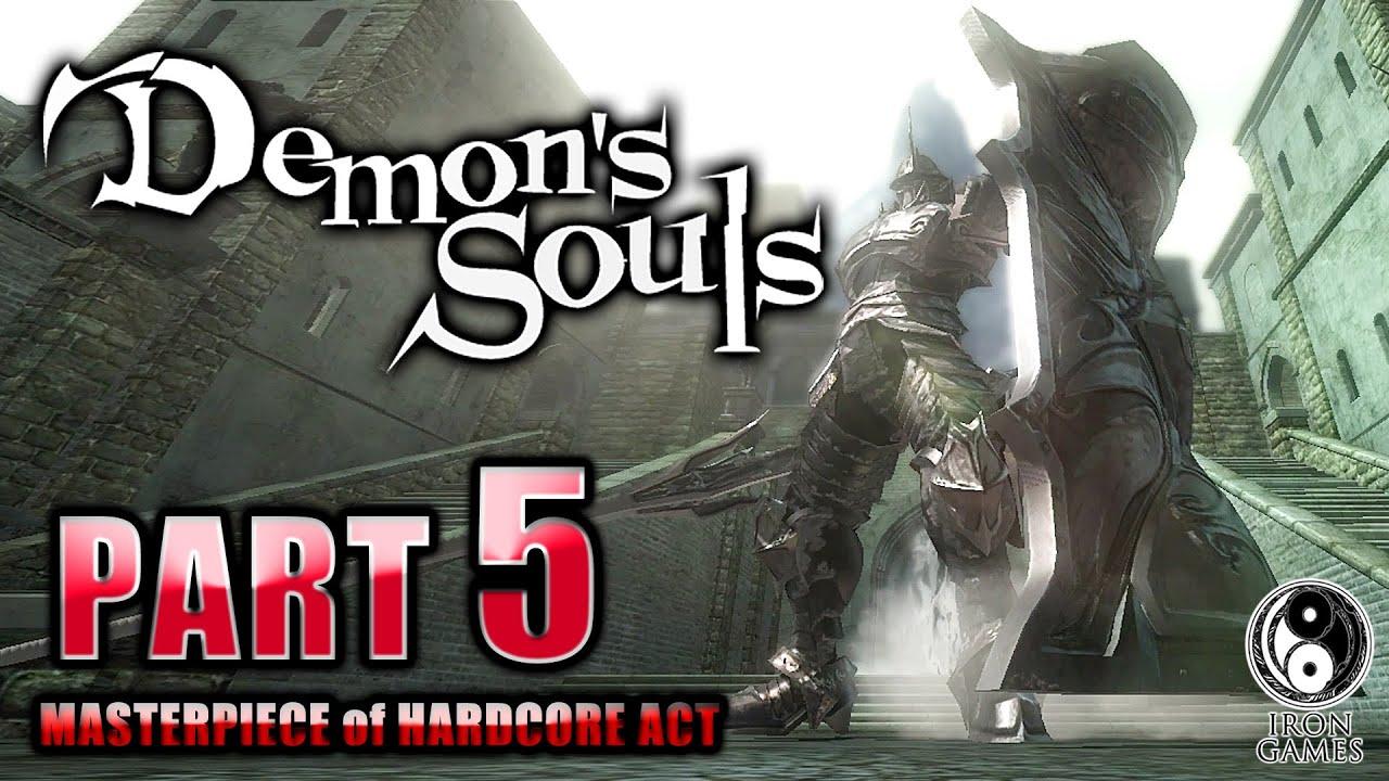#5【デモンズソウル/高画質】ボス「塔の騎士」攻略!聳える巨体と絶望の包囲網【Demon's Souls】