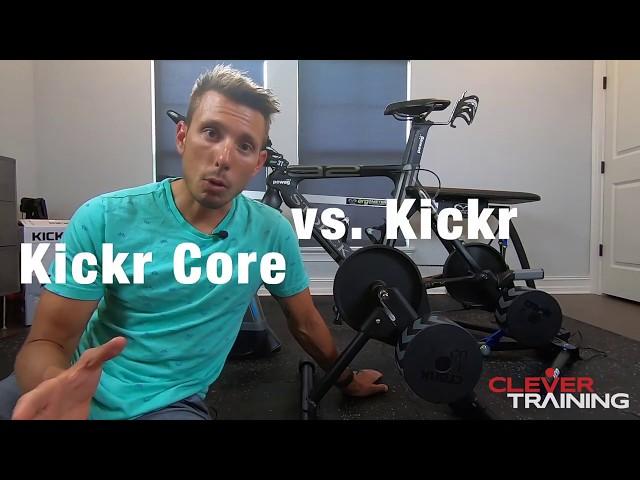 Wahoo Kickr vs. Wahoo Kickr Core - Which one do I choose?