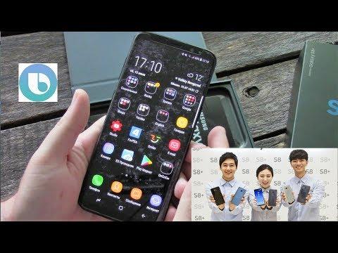 Galaxy S8 Plus из Южной Кореи.Плюсы и минусы.