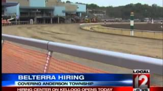 Belterra Park Hiring for 700 New Jobs is Tri-State