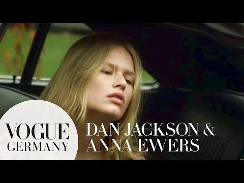 Dan Jackson fotografiert Model Anna Ewers   fashion making of   VOGUE Behind the Scenes