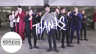 Video [Koreos] Seventeen (세븐틴) - 고맙다(THANKS) Dance Cover 댄스커버 download MP3, 3GP, MP4, WEBM, AVI, FLV Maret 2018