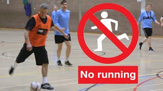 No Running! Football As You