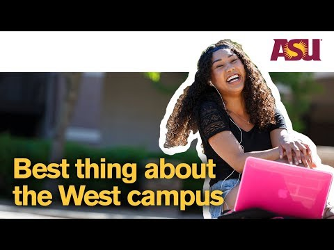 You Asked: What's the best thing about the West campus? | Arizona State University