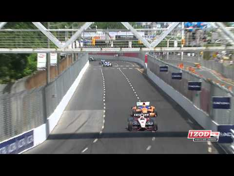 2012 Honda Indy Toronto Race Highlights