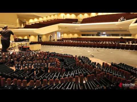 Royal Concert Hall Nottingham -  New Seats Timelapse