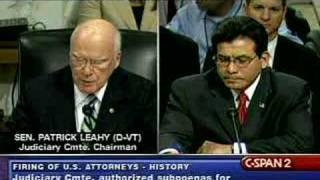 Senate Judiciary Committee with Alberto Gonzales-7/24/07 Pt1