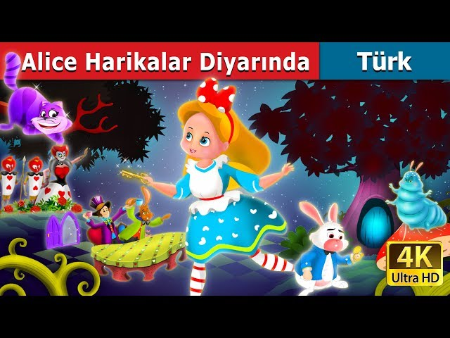 Alice Harikalar Diyar?nda | Masal dinle | Masallar | Peri Masallar? | Türkçe peri masallar