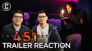 Fahrenheit 451 Trailer Reaction & Review