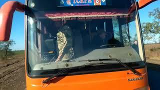 """""""Граждане Украины"""" нападают на автобус в Белозерке"""
