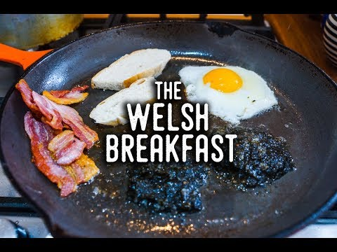 How to make The Full Welsh Breakfast Recipe with Siân in Wales