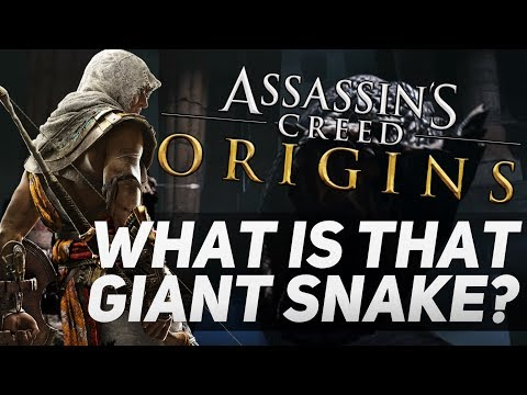 Assassin's Creed Origins - What is The Giant Snake?