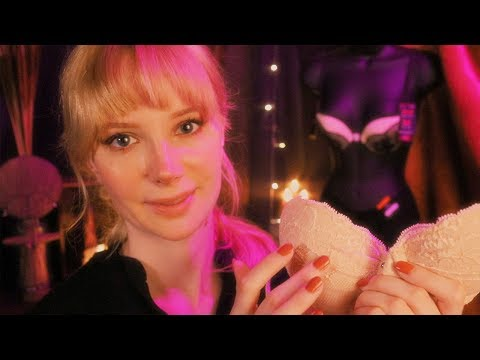 17 Cozy Ln, Ladies Lingerie Store ASMR Fitting Role Play
