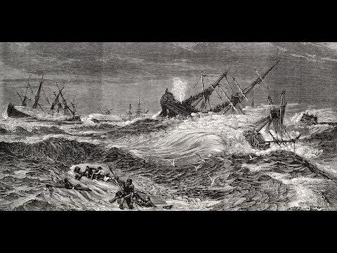 FLAT EARTH BRITISH, Defoe's Super Storm ( 1703) Did It Happen?