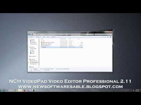 NCH VideoPad Video Editor Professional 2.11 Free Full Download