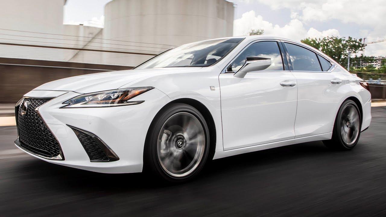 lexus 350 sport es interior release date colors redesign quarter three front walkaround driving thumbnail
