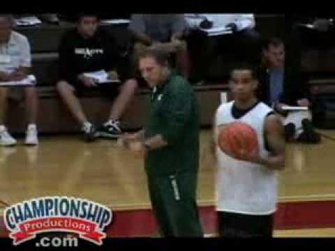 Tom Izzo:  Quick Strikes & Warm-Up Drills for Winning Basketball