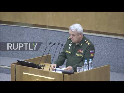 Russia: State Duma approves indefinite deployment of Russian air force in Syria