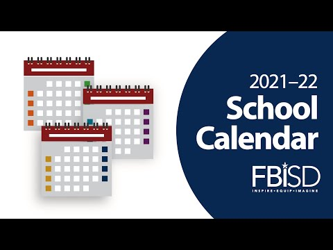 Photos of Fbisd School Calendar 2021-22