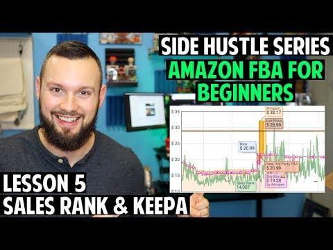 Amazon FBA Course for Beginners   Lesson 5 - Sales Rank & Keepa thumbnail
