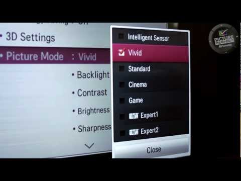 How to set the Colour Temperature, Colour Gamut & Gamma (Basic) on your TV