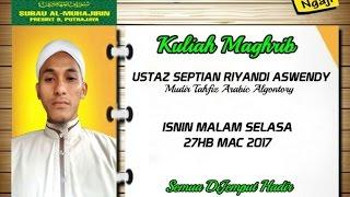 Ustaz Septian KM HAK SOLAT PUASA AL QURAN SEDEKAH 27 03 2017